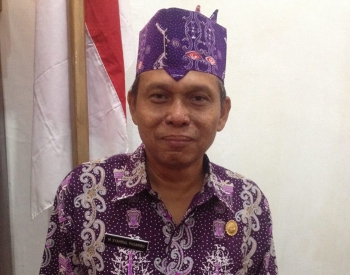 Kepala Dinas Tenaga Kerja dan Transmigrasi Kabupaten Murung Raya M Syahrial Pasaribu