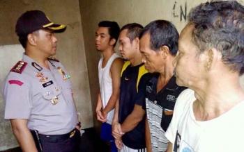 Ruang Tahanan Polres Palangka Raya Over Load