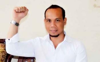 Edy Ruswandi salah satu dari enam inisiator aksi demo damai 162 tolak pemakzulan Bupati Katingan.