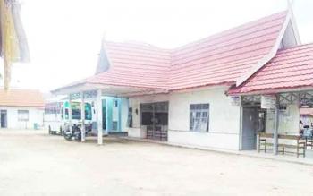 Inilah salah satu kawasan kota Buntok yang perlu penataan.