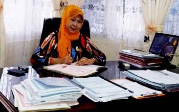Kepala Dinas Kependudukan dan Catatan Sipil (Disdukcapil) Kota Palangka Raya, Zulhikmah Ravieq