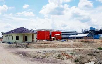 Pabrik Kelapa Sawit (PKS) milik PT. Khatulistiwa Sinergi Omnidaya (KSO) di Desa Kujan.
