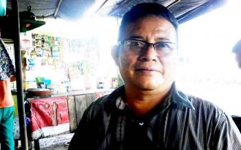 Ketua Pasar Kasongan, Aris Munandar.