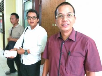 Sekretaris Asosiasi Advokat Indonesia Palangka Raya Parlin Bayu Hutabarat