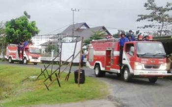 Mobil pemadam kebakaran milik Pemkab Seruyan yang beroperasi di Kuala Pembuang dan sekitarnya.
