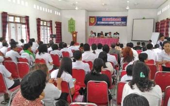 Susana Musrenbang Kecamatan Kurun, Rabu (22/2/2017)