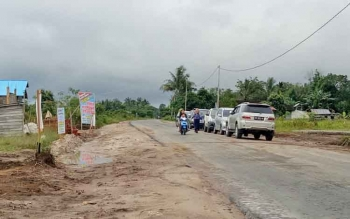 Suasana Desa Pudu, Kecamatan Sukamara, Kabupaten Sukamara.