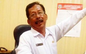 Kepala Dinas Lingkungan Hidup Kabupaten Murung Raya Pujo Sarwono.