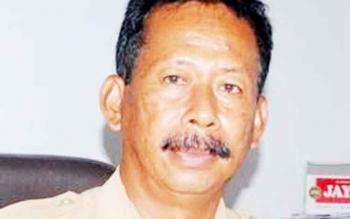 Kepala Dinas Lingkungan Hidup Kabupaten Murung Raya Pujo Sarwono