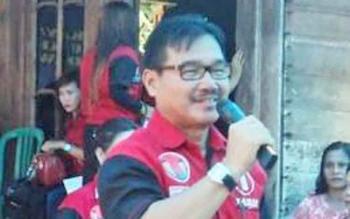 Calon bupati Barito Selatan nomor urut 1, Farid Yusran, saat kampanye dialogis beberapa waktu lalu.