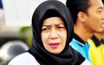 Kepala Dinas Pendidikan Kabupaten Pulang Pisau, Aminah.
