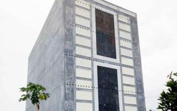 Salah satu gedung sarang burung walet di Pangkalan Bun.