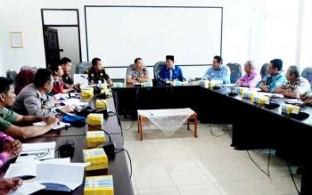 Rapat koordinasi Satgas Saber Pungli Kotim.