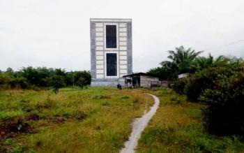 Inilah bangunan walet yang disatroni kawanan sindikat spesialis rumah walet di Jalan Kartini, RT 22/08, Karang Anyar, Kelurahan Mendawai, Pangkalan Bun.