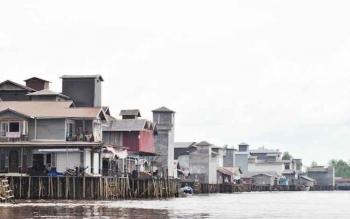 Sarang Walet di Kecamatan kahayan Kuala.