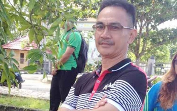 Kepala Dinas Pertanian dan Peternakan Kabupaten Murung Raya, Ganefo L. Amin.