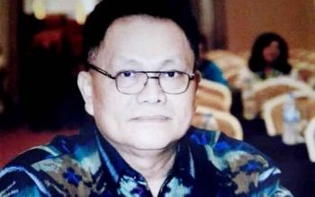 Kepala Dinas Perindustrian dan Perdagangan Kabupaten Gunung Mas Yulianus H Umar.