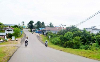 Jalan Ahmad Yani, Kota Puruk Cahu, Kabupaten Murung Raya.