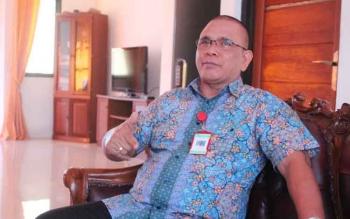 Kepala LPMP Kalteng Krisnayadi Toendan, mengaku prihatin kondisi perpustakaan sekolah di Kalteng