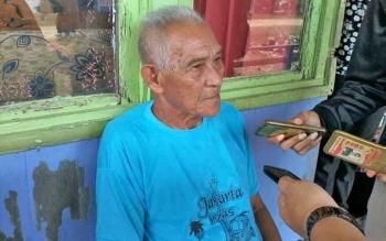 Damang Kepala Adat Kecamatan Katingan Tengah Isay Djudae