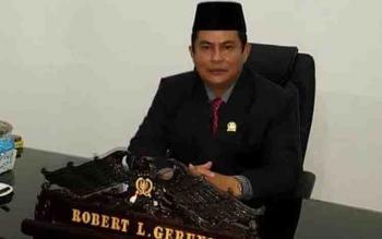 Wakil Ketua DPRD Kapuas, Robert L Gerung.