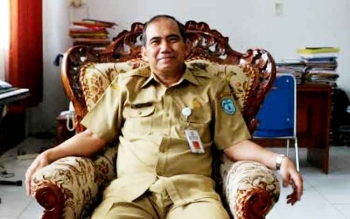 Kepala Bappeda Lamandau, Abisua.