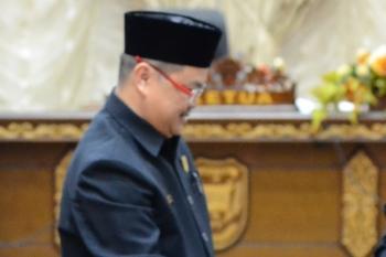 Ketua DPRD Kabupaten Barito Utara Set Enus Y Mebas