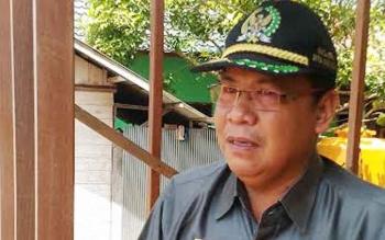 Wakil Ketua I DPRD Gumas, Punding S Merang.