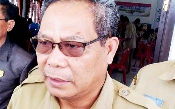 Kepala Badan Perencanaan, Penelitian dan Pengebangan Daerah Gumas, Salampak.