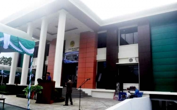Gedung Pengadilan Agama Muara Teweh yang baru saja diresmikan.