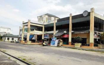 Pasar Datah Manuah Palangka Raya, rencananya akan direnovasi di tahun 2018.