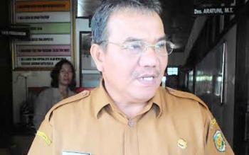 Kepala Dinas Perindustrian dan Perdagangan (Disperidag) Kota Palangka Raya, Aratuni D Djaban