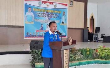 Ketua DPD KNPI Lamandau Gusman.