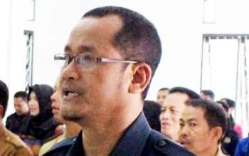 Ketua Pengadilan Negeri Muara Teweh, Kabupaten Barito Utara, Suparna.