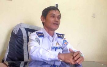 Kepala Bidang (Kabid) Lalu Lintas Angkutan Jalan (LLAJ) pada Dinas Perhubungan (Dishub) Kabupaten Murung Raya (Mura), Usis N. Djapar.
