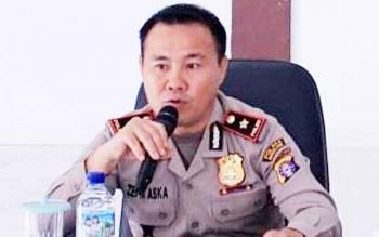 Ketua Tim Saber Pungli Murung Raya, Kompol Zepni Aska