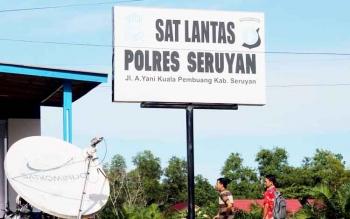 Polres Seruyan Kerahkan Puluhan Personel Buru Pelaku Balapan Liar