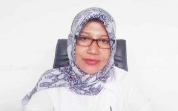 Kepala Dinas Pendidikan Kabupaten Kobar, Aida Lailawati.
