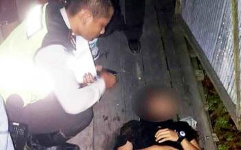 Mahasiswa yang tewas diduga akibat kecelakaan tunggal.