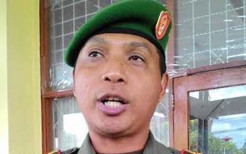 Komandan Tim Satgas Karhutla Palangka Raya, Letkol Czi Alfius Nafirinda Krisdayanto