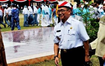 Pejabat Bupati Kotawaringin Barat Nurul Edy