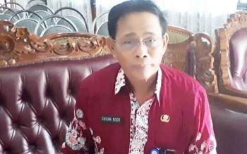 Wakil Ketua Satuan Tugas (Satgas) Sapu Bersih Pungutan Liar (Saber Pungli) Kotawaringin Timur (Kotim) Sugian Noor.