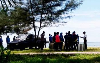 Wisata Pantai Anugrah Desa Sungai Tabuk, Kecamatan Pantai Lunci, Kabupaten Sukamara