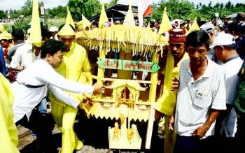 Bersih Banua, salah satu event budaya di Kotawaringin Barat.