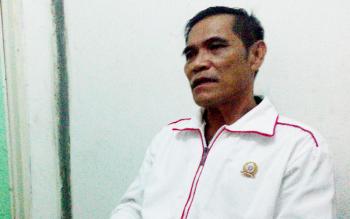 Bachtiar Effendi, Koordinator Deklarasi dukungan terhadap Sipet Hermanto menyatakan Sipet siap maju sebagai calon walikota Palangka Raya pada Pilkada 2018, Jumat (3/3/2017) sore.