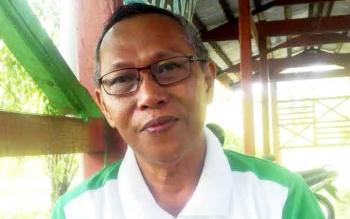 Kepala Dinas Lingkungan Hidup Kabupaten Kapuas Saleh Makki