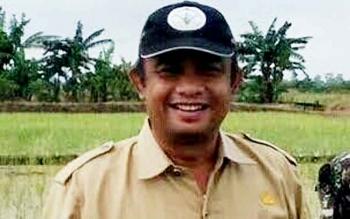 Kepala Dinas Pertanian dan Ketahanan Pangan Kabupaten Seruyan, Sugian Noor.