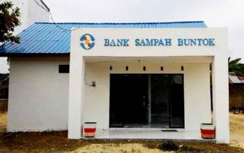 Bank Sampah di Jalan Patianom Buntok.
