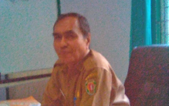Kepala Dinas Kesehatan Kabupaten Barito Timur Simon Biring