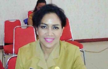 Kepala Dinas Pengendalian Penduduk Keluarga Berencana Pemberdayaan Perempuan dan Perlindungan Anak, Kabupaten Murung Raya, Lynda Kristiane